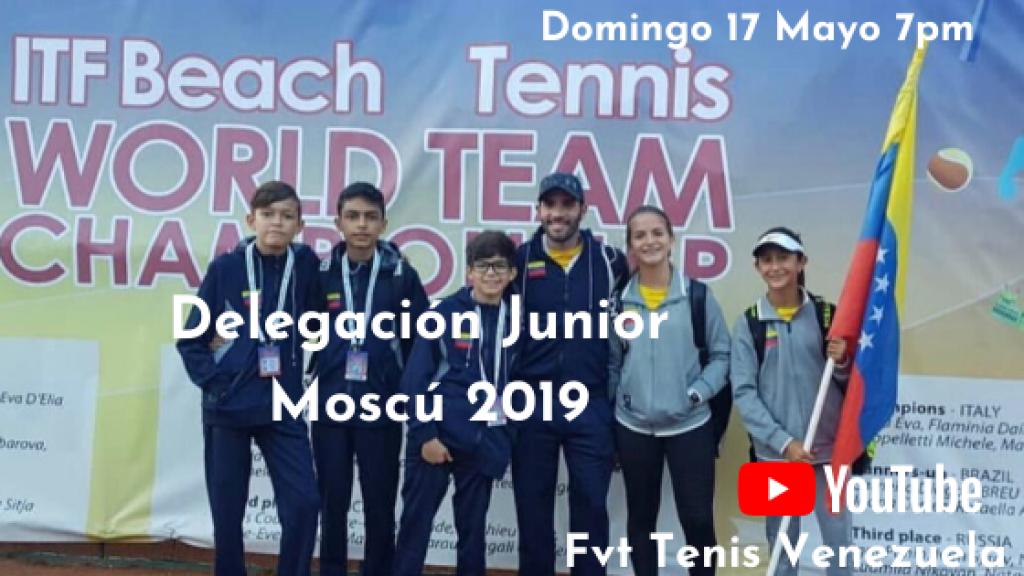 Live con Delegación Junior Moscu 2019 2