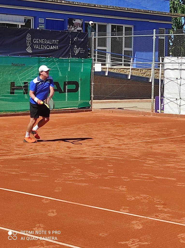 Perez: Campeón ITF +50 Copa Juan Carlos Ferrero 8