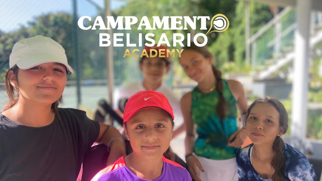 Campamento Belisario Academy: el tenis del futuro en el Club Izcaragua 8