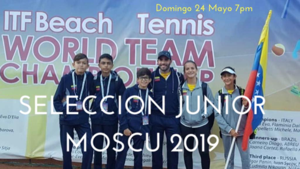 Live Selección Junior Moscu 2019 8