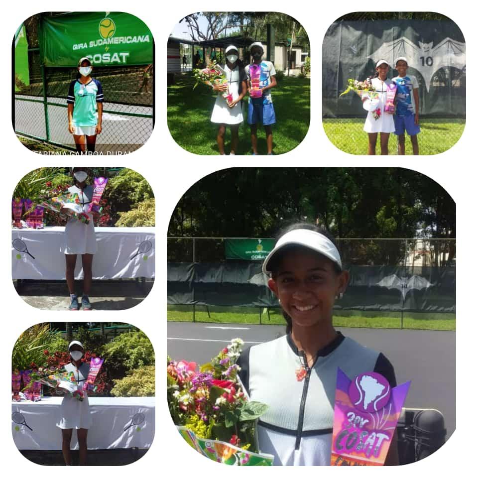 Zuliana Fabiana Gamboa Campeona de la Primera Parada de Tenis Cosat Valencia Open 6