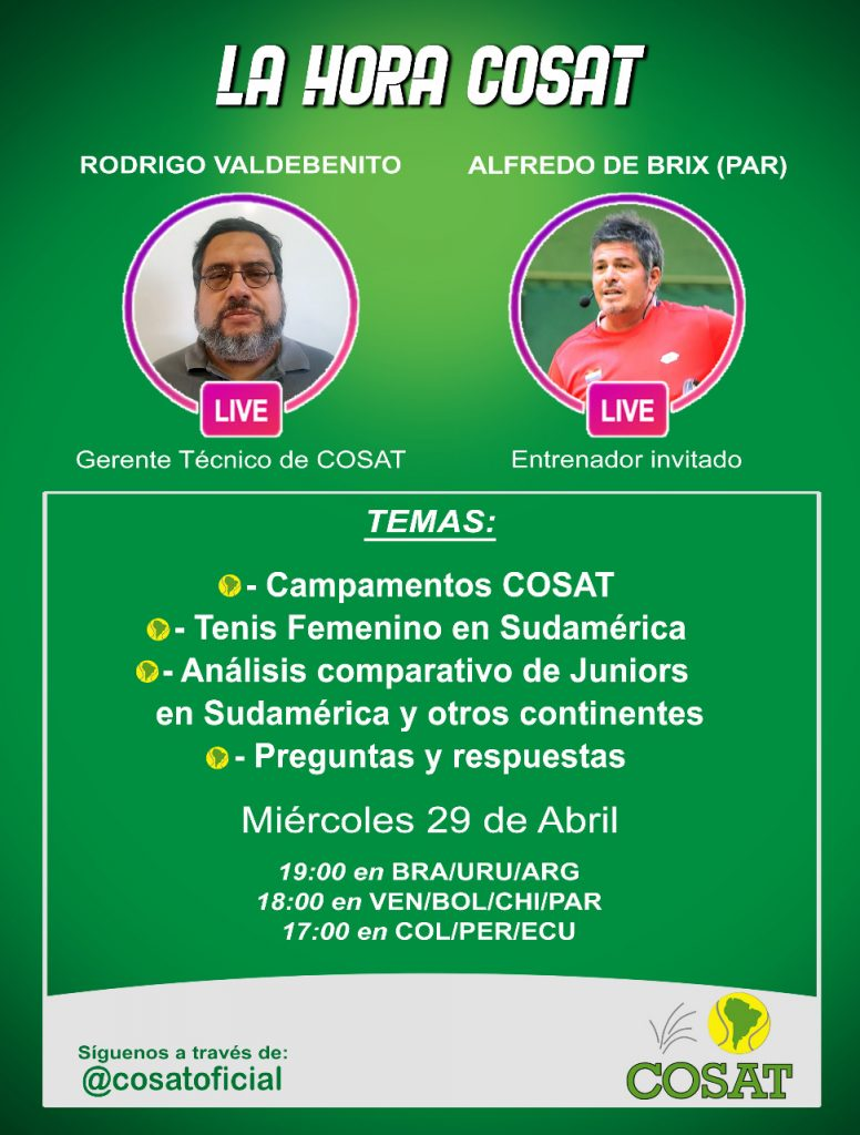 Hora COSAT | Rodrigo Valdebenito - Alfredo de Brix. 2
