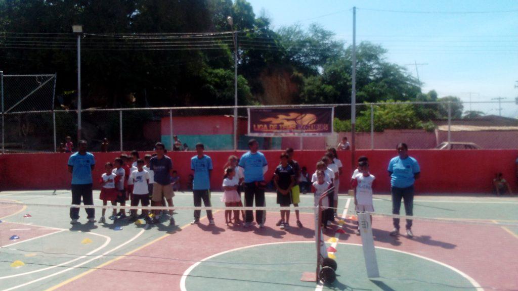 Liga de Tenis Comunitario en Sucre 8