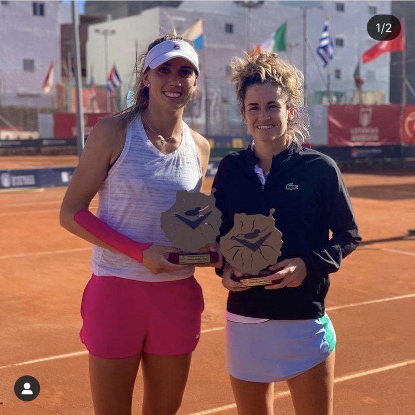 Andrea Gamiz Campeona W15 Las Palmas 8