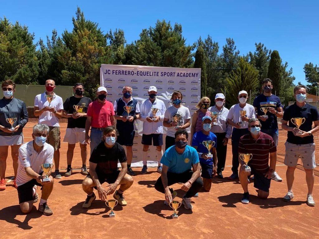 Perez: Campeón ITF +50 Copa Juan Carlos Ferrero 6