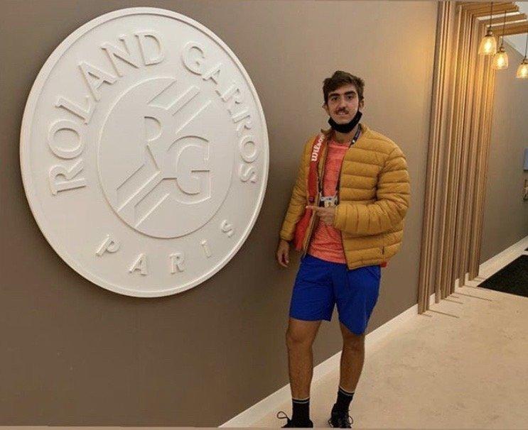 Lorenzo Debuta en Roland Garros 2020 12