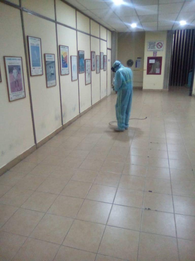 Jornada de Desinfección FVT 12