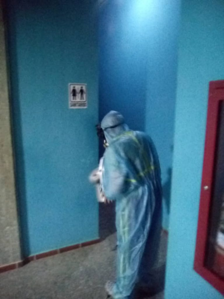 Jornada de Desinfección FVT 8
