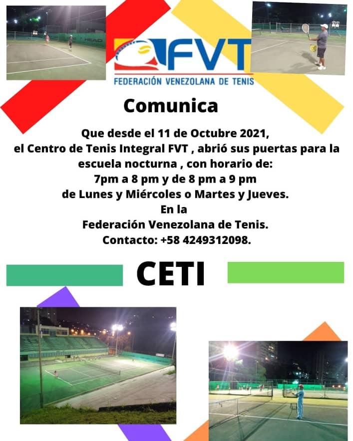 Centro de Tenis Integral FVT con horarios nocturnos 4