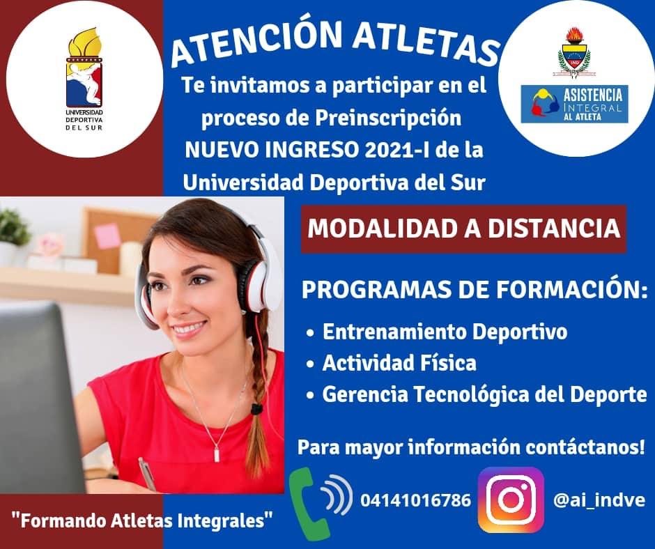 Universidad Deportiva del Sur: Programas de Formación 6
