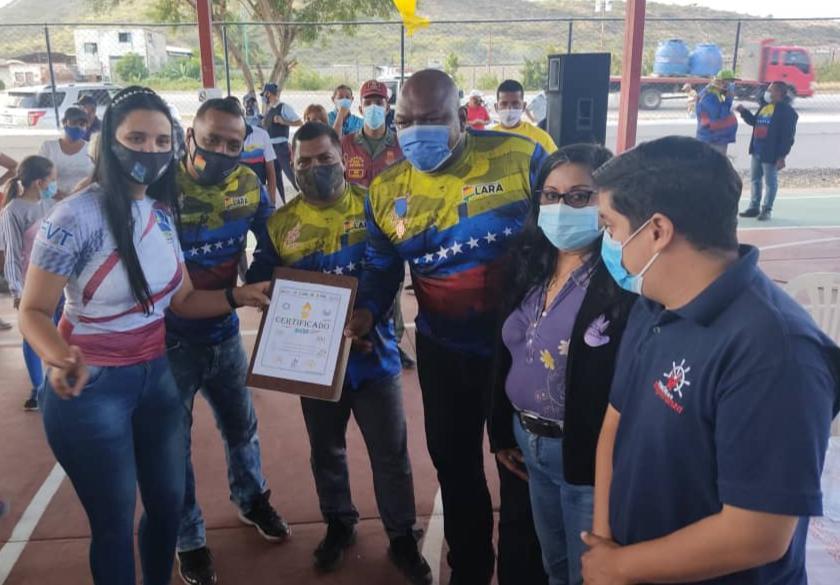 Gobernación del Estado Lara certificó a la Asociación de Tenis 8