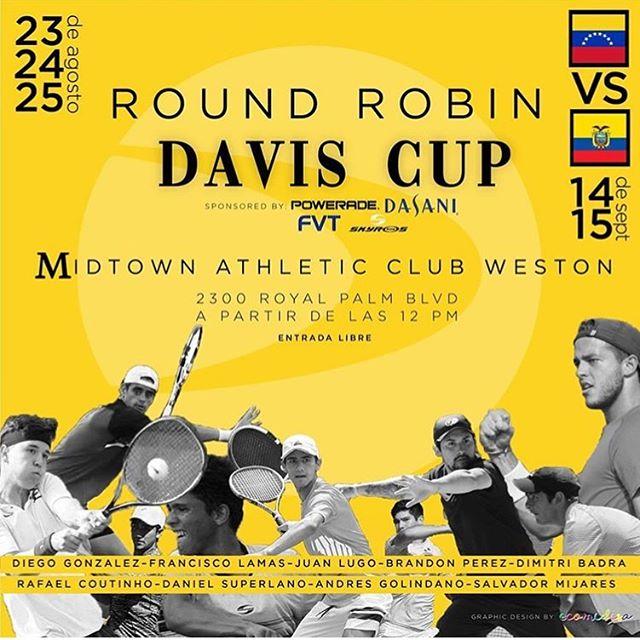 Round robin para el 4to integrante del equipo de Copa Davis 4