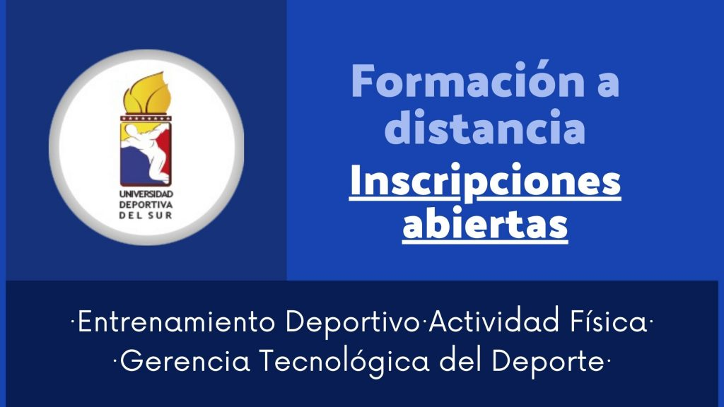 Universidad Deportiva del Sur: Programas de Formación 4